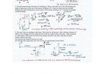 Key The trigonometry