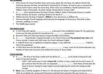 UK history up to 1600 worksheet_Strana_2
