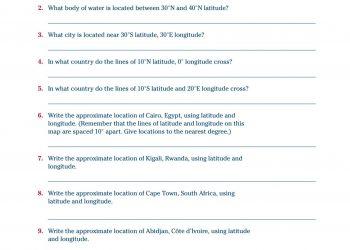 Worksheet 2-1