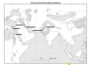 WORKSHEET - Ancient River Valley Civilization Review-6