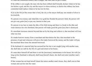 WORKSHEET - Hammurabi's Law Code Analysis-2